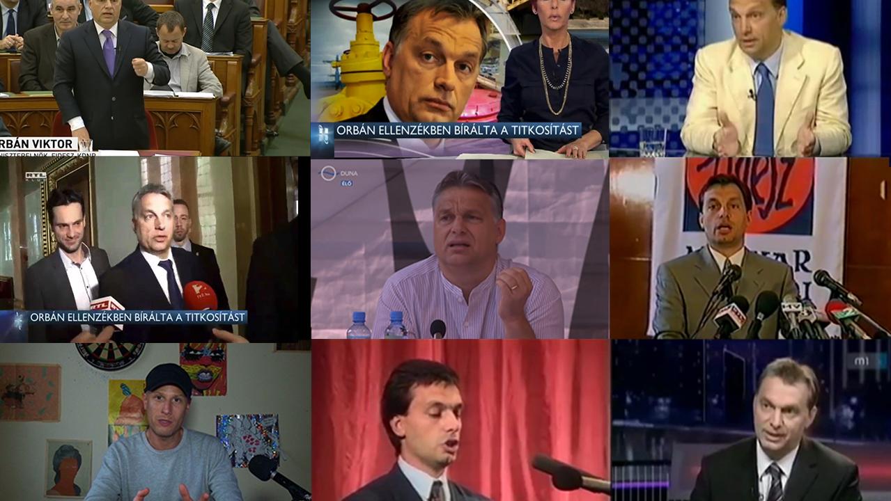 Beleszédültünk, amikor végignéztük, hányszor váltott irányt Orbán
