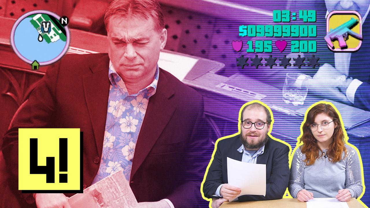 Orbán akkorát válaszolt a parlamentben, hogy azzal a Quimbybe is beférne