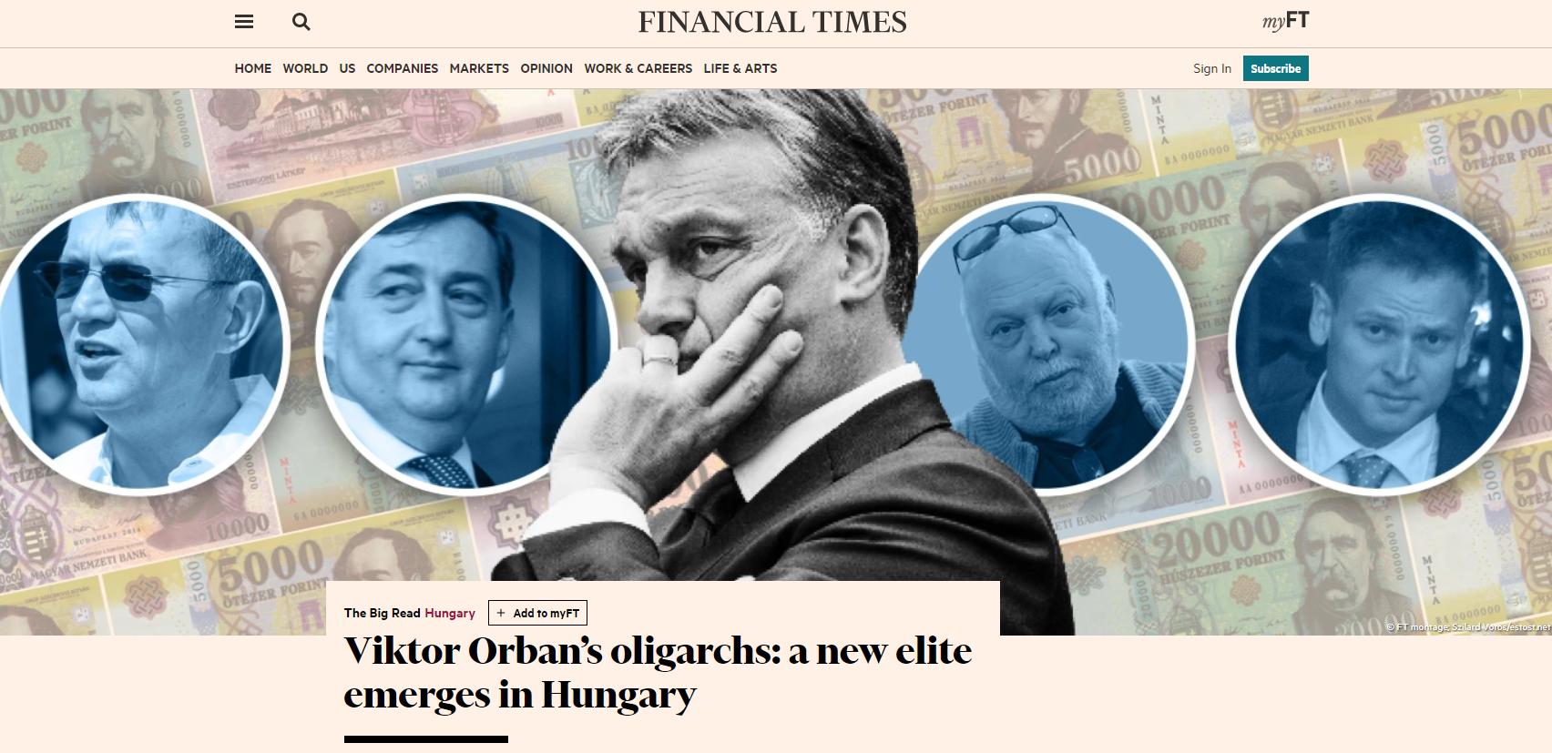 A legsúlyosabb londoni ügyvédekkel próbálnak nyomást gyakorolni a Magyarországról kritikusan író nemzetközi lapokra