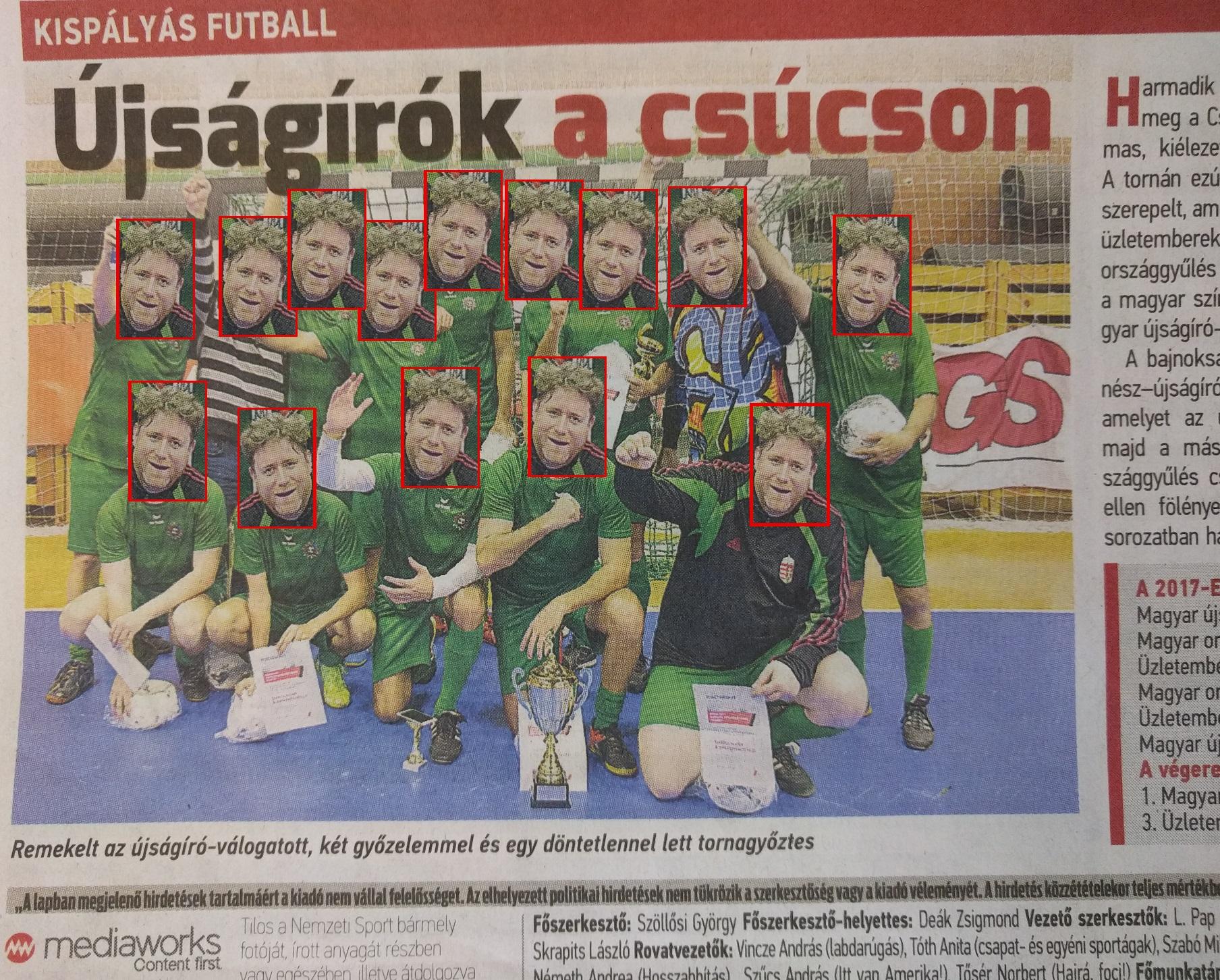 Az ember, aki Mészáros Lőrinctől megkapta az ország legnagyobb sportlapját, idén 30-szor tette bele a fotóját az újságba