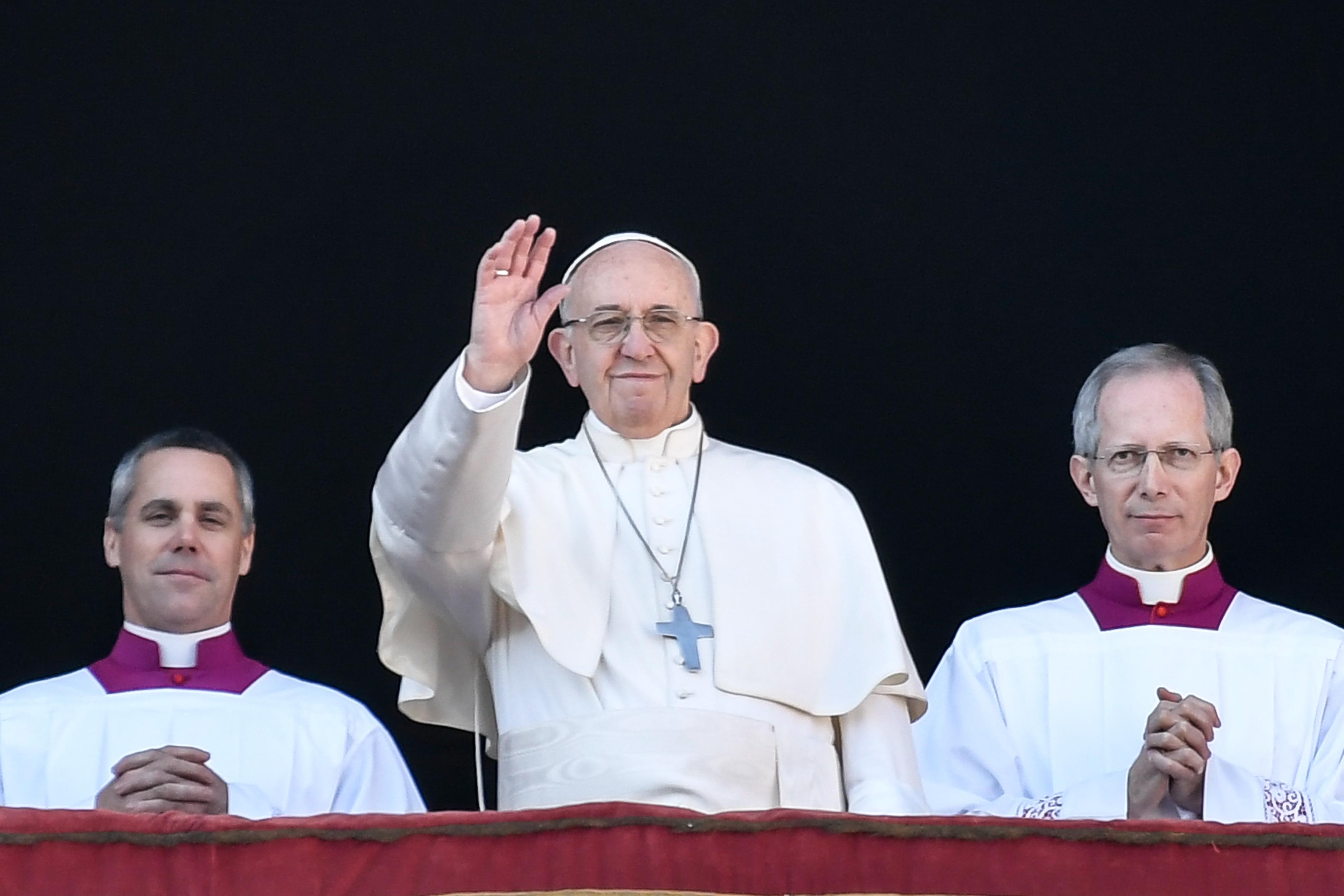 Ferenc pápa: Elfogadhatatlanok a politikában azok a hangok, amelyek mindenért a migránsokat okolják