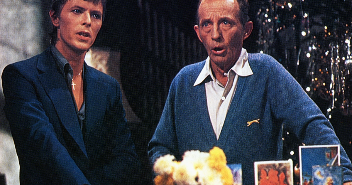 Az egyik leghíresebb karácsonyi duett lett David Bowie és Bing Crosby közös dala, pedig majdnem meg sem valósult