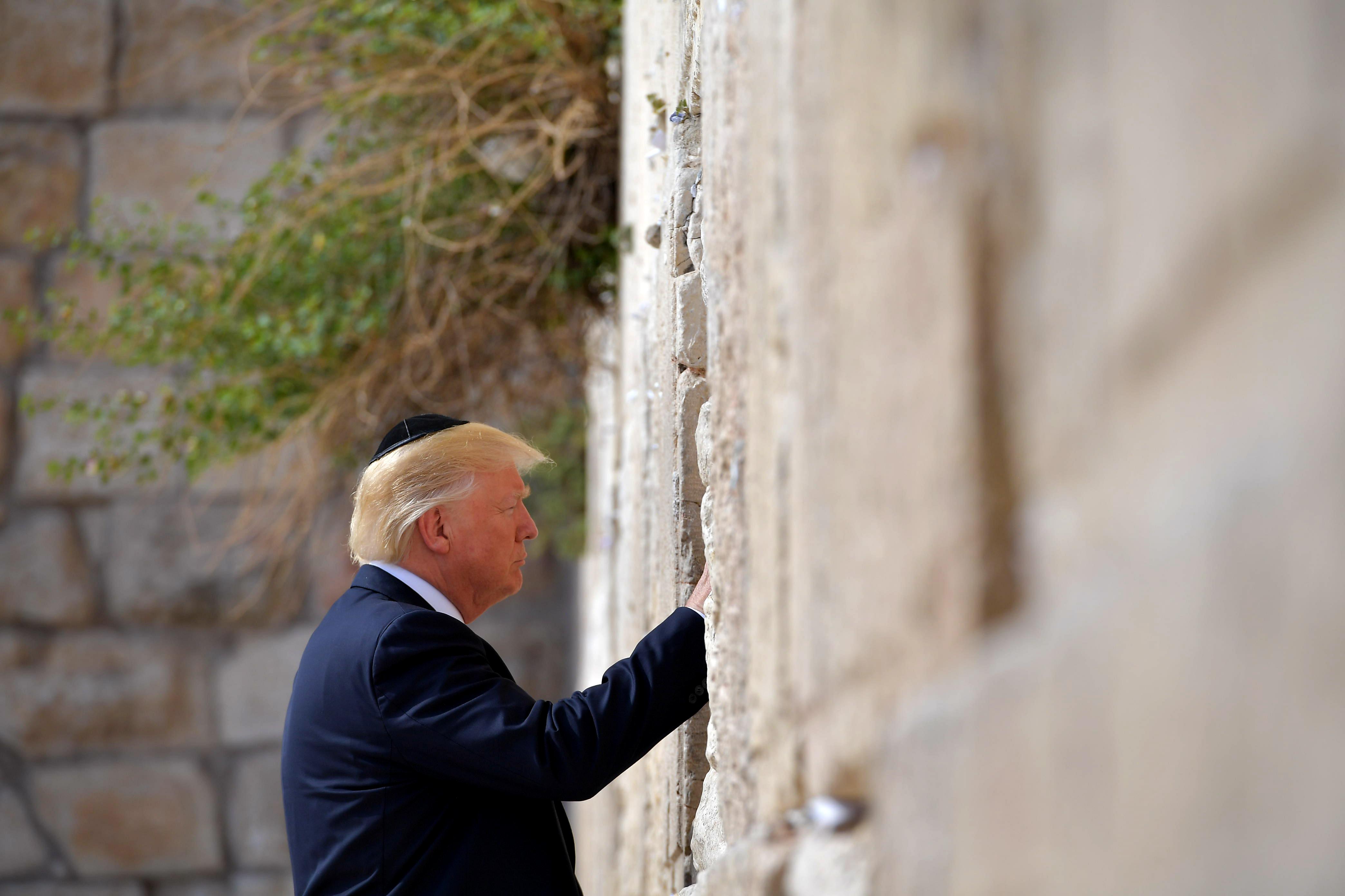 Trump szerint kérdéses, hogy lehet-e béke a Közel-Keleten
