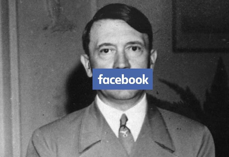 Van, hogy a Facebook annyira üldözi a nácikat, hogy pont azt nem engedi, hogy megírjad, mit művelnek