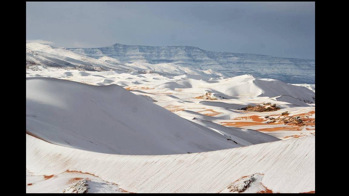 Havazott a Szaharában