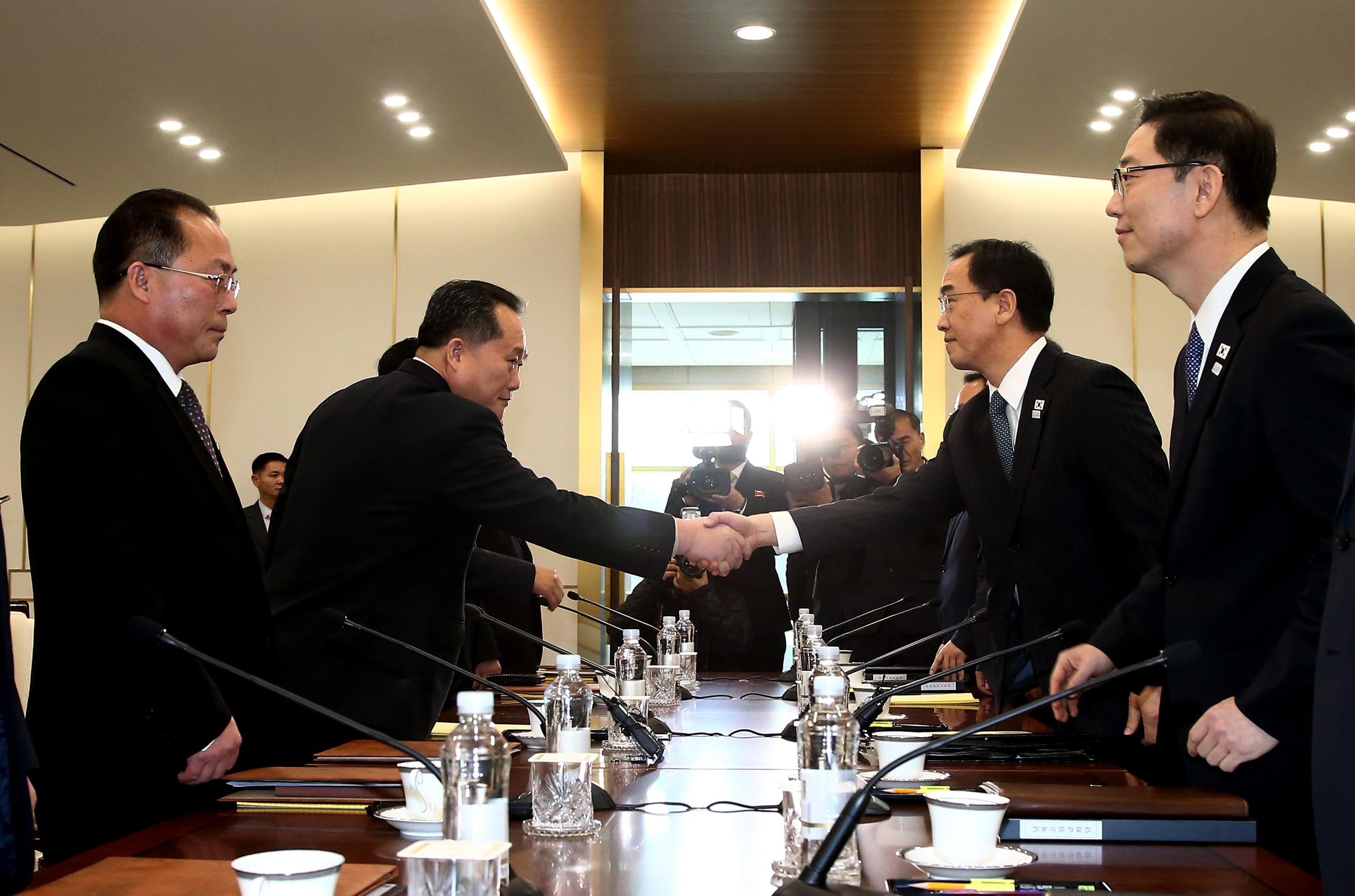 Észak-Korea megegyezett Dél-Koreával a téli olimpiáról