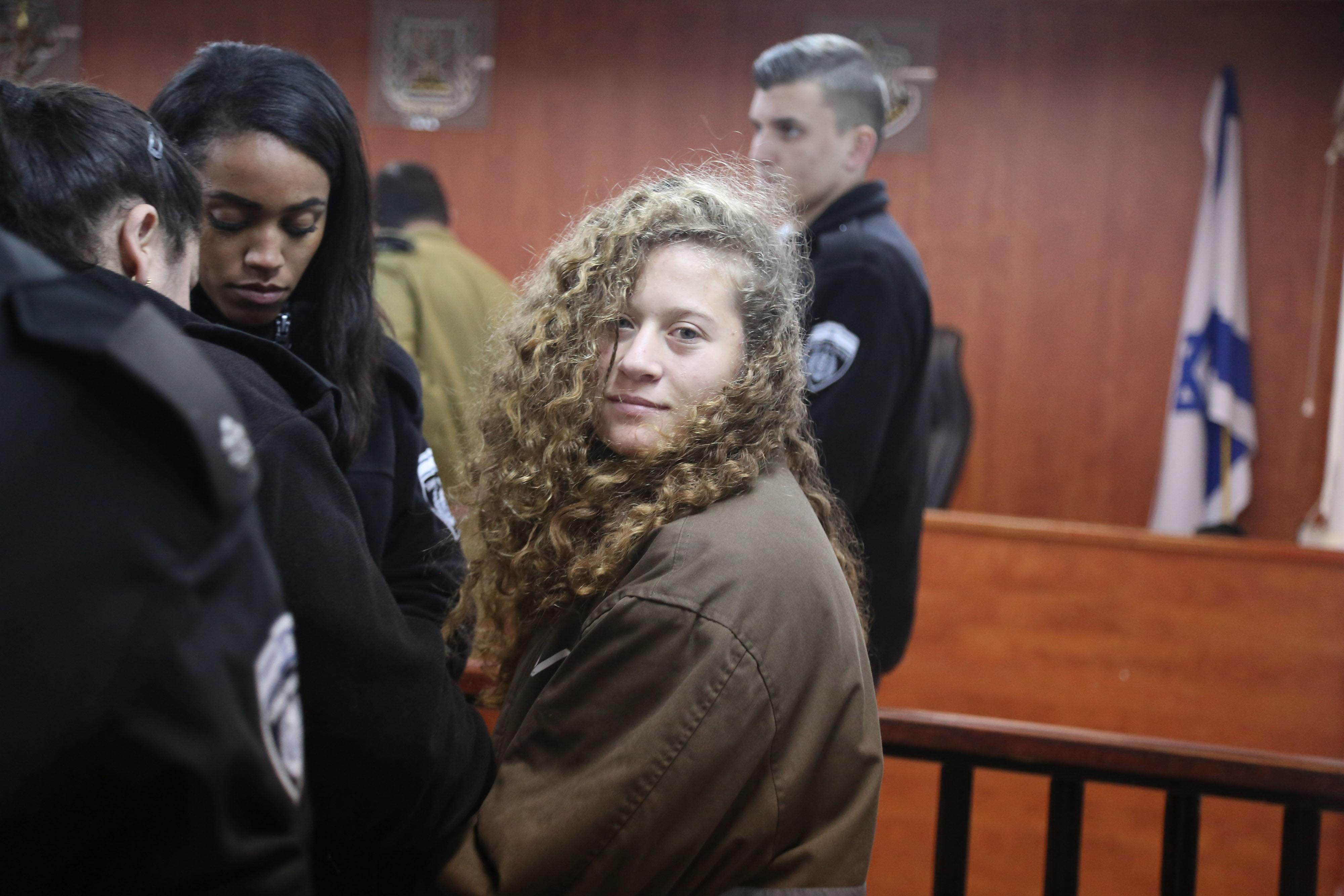 16 éves, megpofozott egy izraeli katonát, egész életére börtönbe küldenék