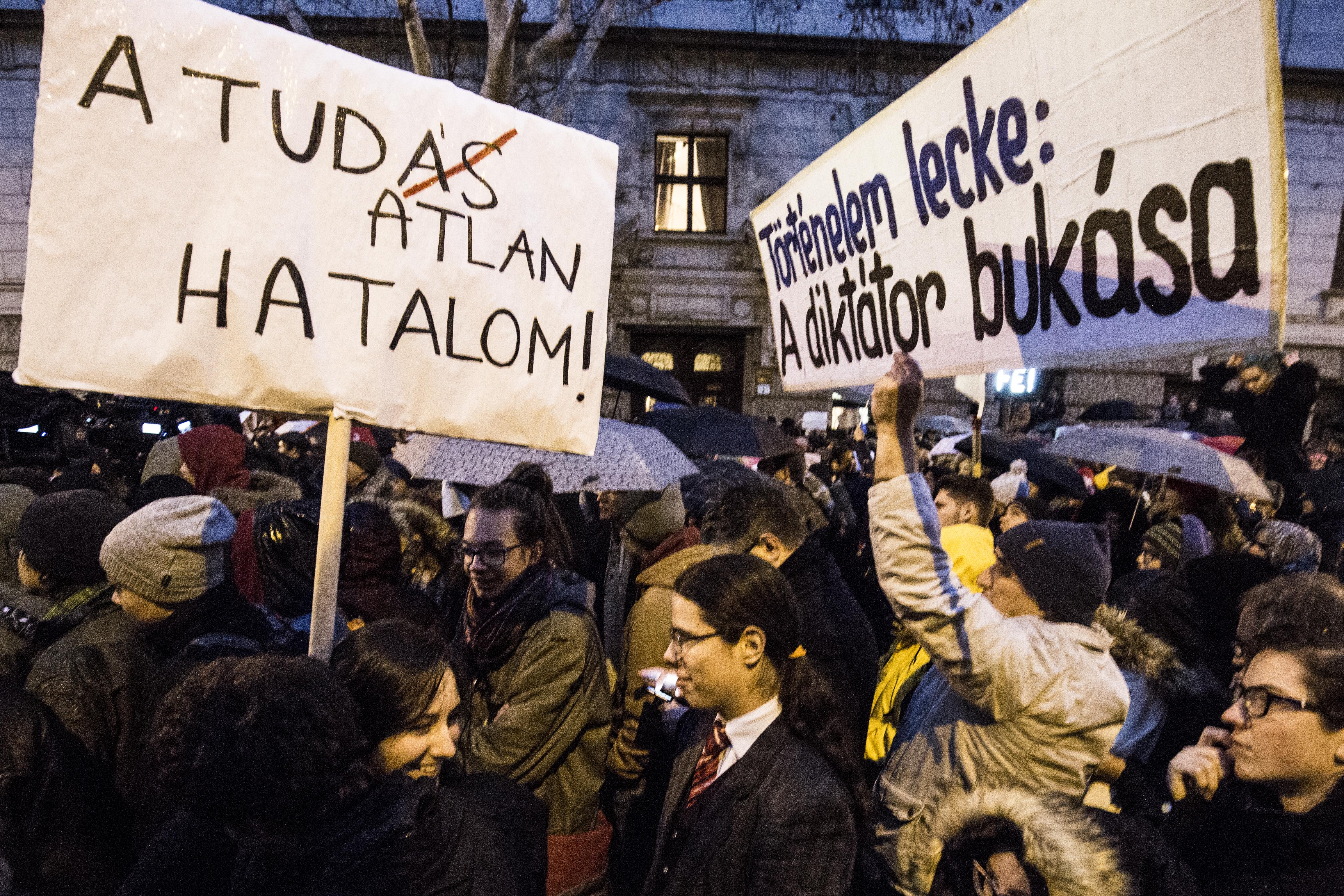 Orbán Viktor nem fog tárgyalni a diákokkal