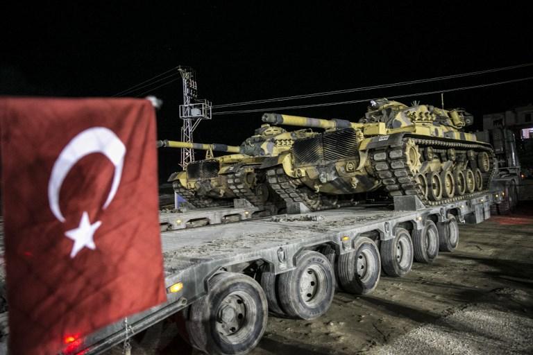 Törökország szombaton másodszor is beszállt a szíriai háborúba