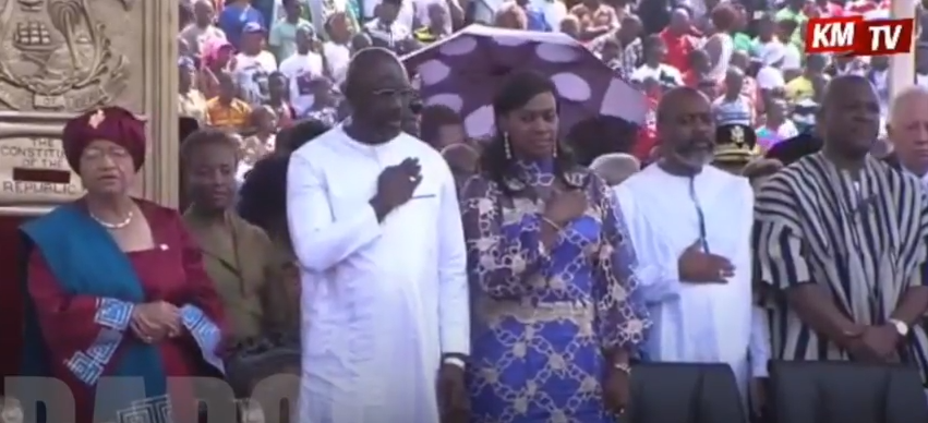 George Weah ma tényleg Libéria elnöke lett