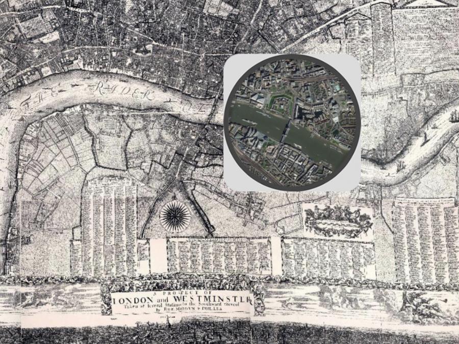 Interaktív térkép mutatja meg, mennyit változott London az elmúlt 330 évben