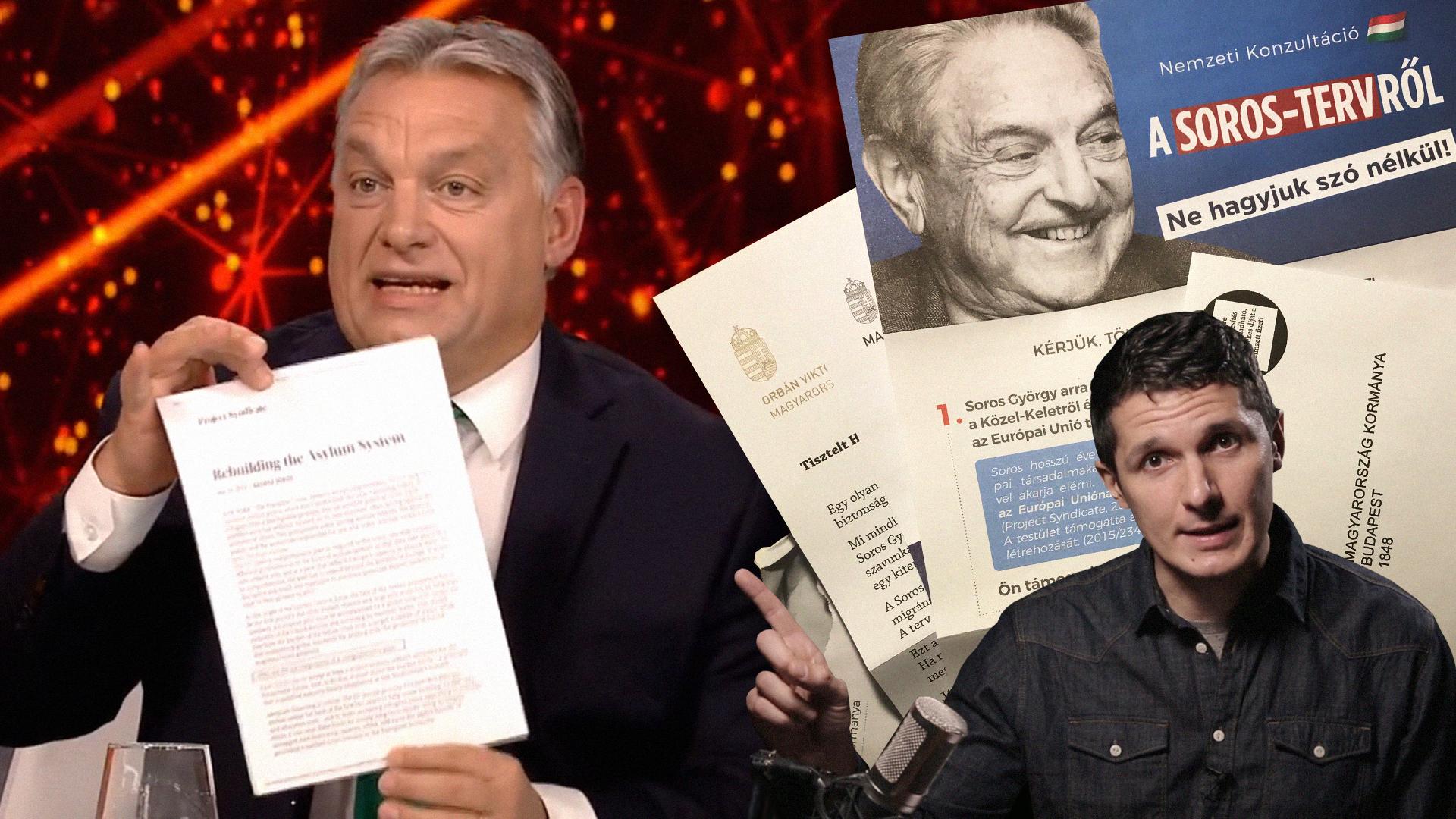 Élő adásban omlik a Fideszre a Soros-valóságshow
