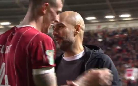 Guardiolával cserélt volna mezt a Stoke védője