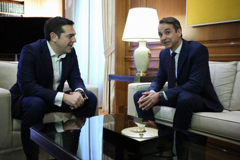 A görög jobboldali ellenzék nagyon dühös Ciprászra, mert megoldaná a macedón névvitát