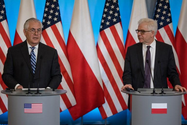 Az amerikai és a lengyel külügyminiszter együtt szidták a német-orosz vezeték tervét