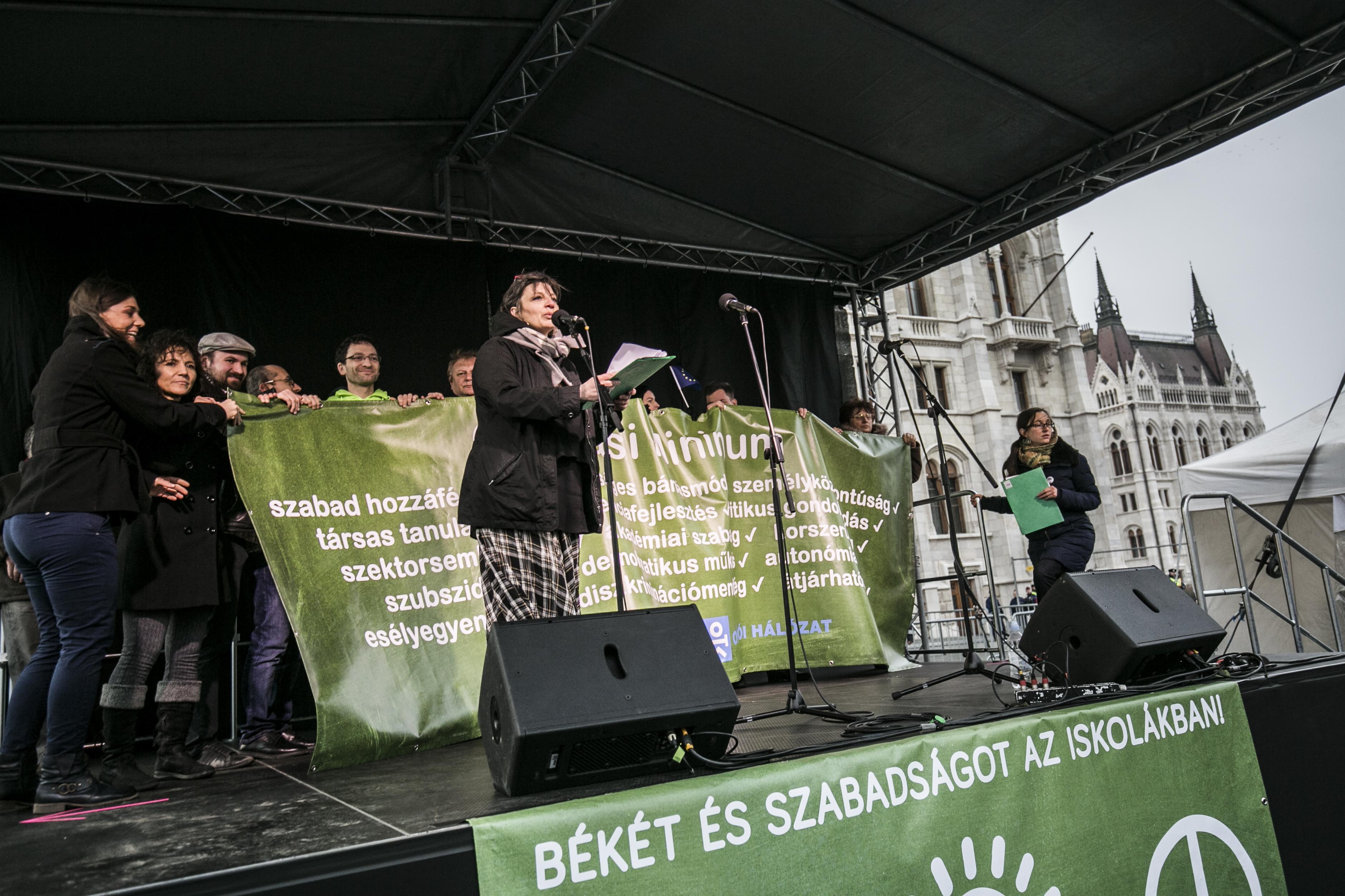 A Tanítanék Mozgalom szerint már nincs értelme Orbánnal tárgyalni