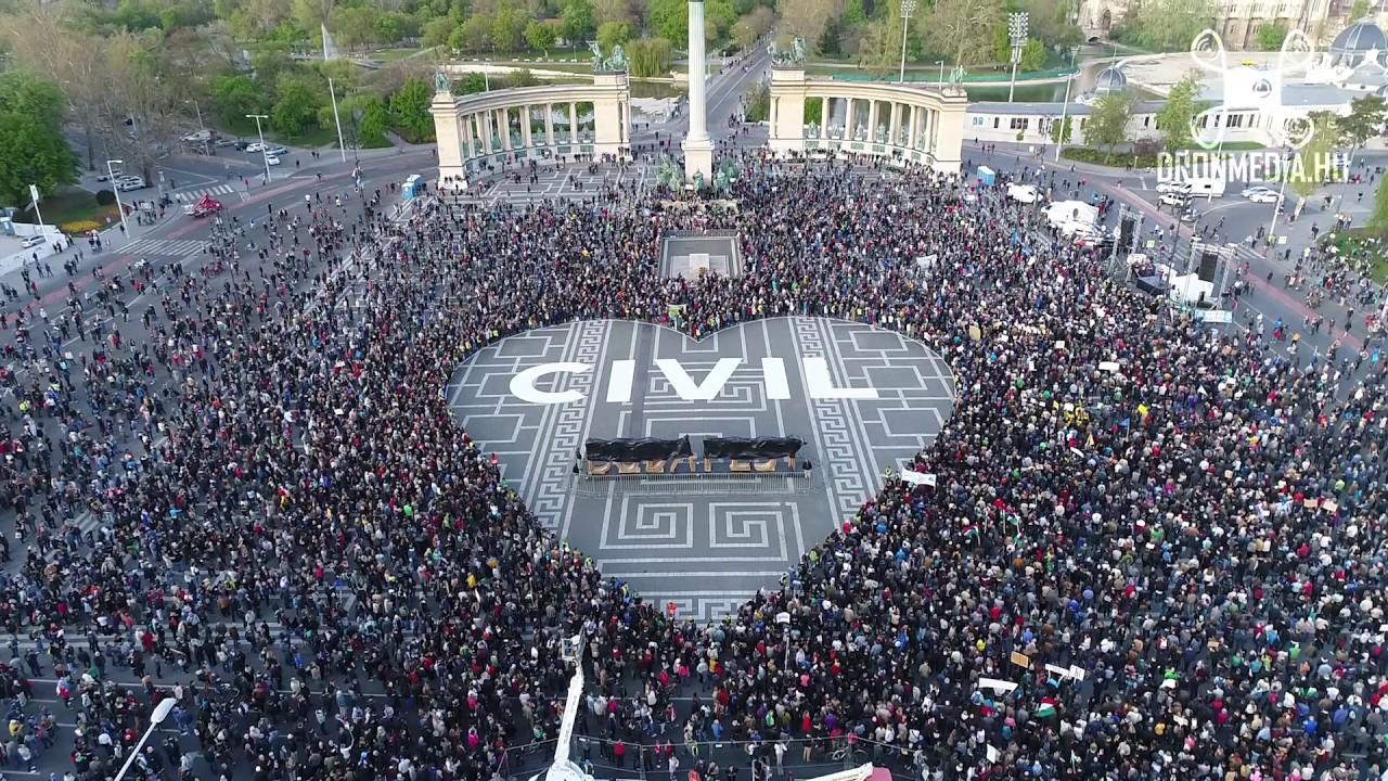 Tizennégy civil szervezet fordult Strasbourghoz a civilek ellen hozott törvény miatt