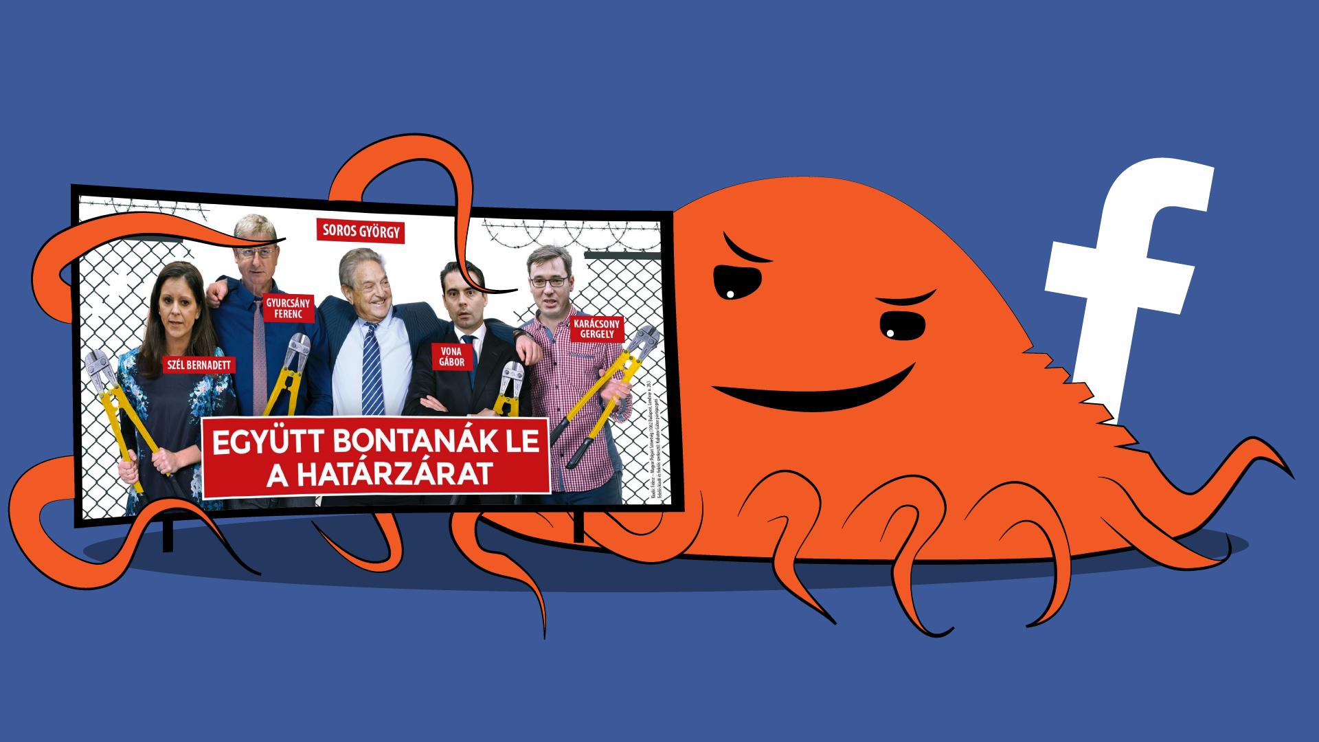 A Fidesz kedden kipróbálta a teljes Facebook-hadseregét