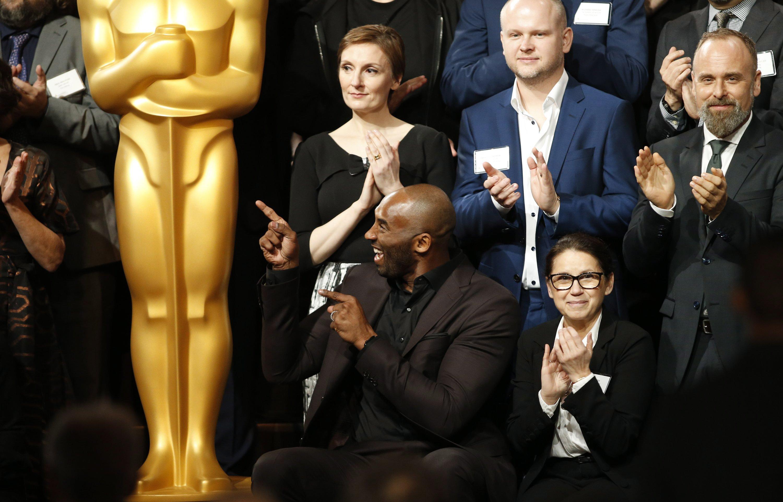 Kobe Bryant mellett ült Enyedi Ildikó az Oscarra jelöltek fotózásán