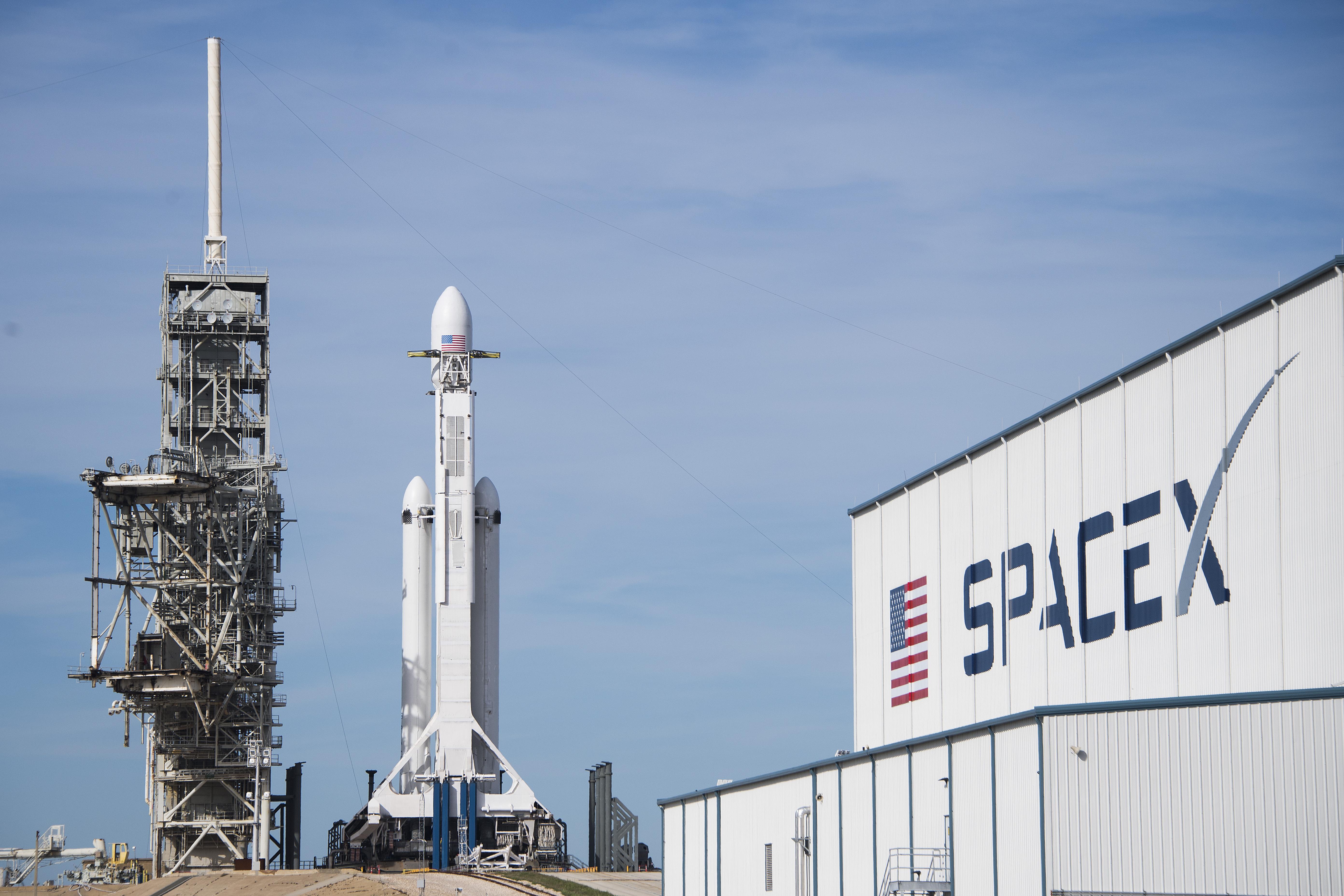A Falcon Heavy az emberiség legerősebb, ma működő rakétája