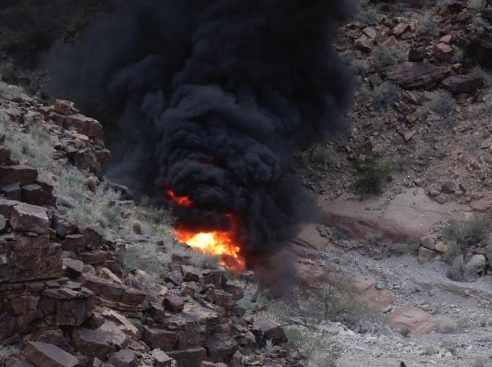 Hárman meghaltak, négyen súlyosan megsérültek egy helikopterbalesetben a Grand Canyonban