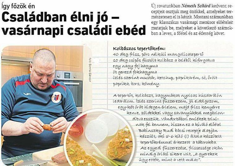 Németh Szilárd: Így főzök én