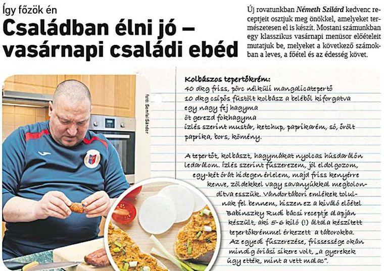 Évi 40 milliót költ a Németh Szilárd receptjeit bemutató Csepeli Hírmondóra az önkormányzat
