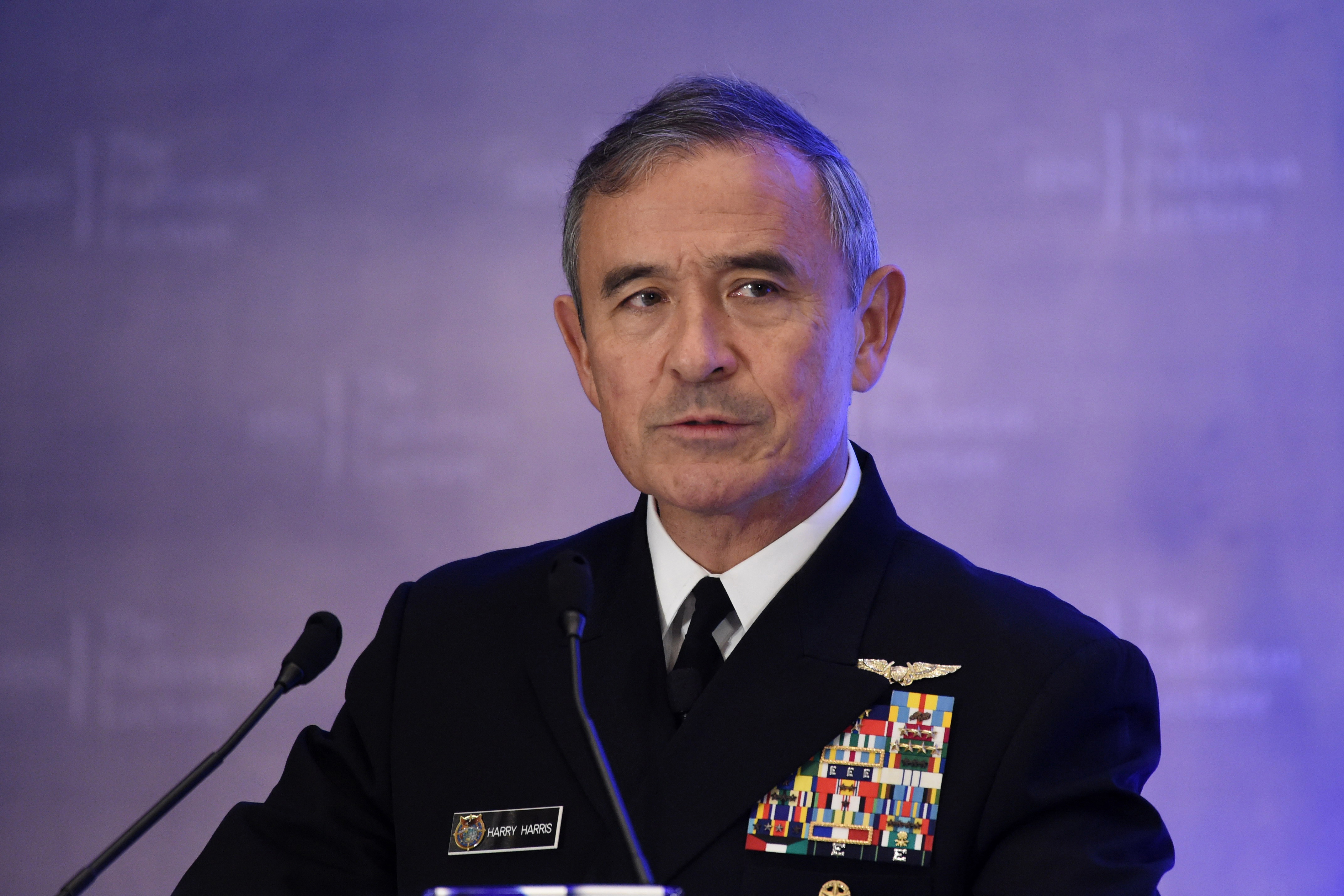 Kínai-amerikai háborútól tart az amerikai haditengerészet tengernagya