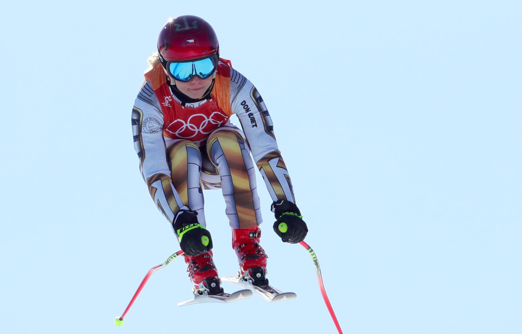 Őrület: snowboardos nyerte a női szuperóriás-műlesiklást az olimpián, kölcsönkért lécekkel
