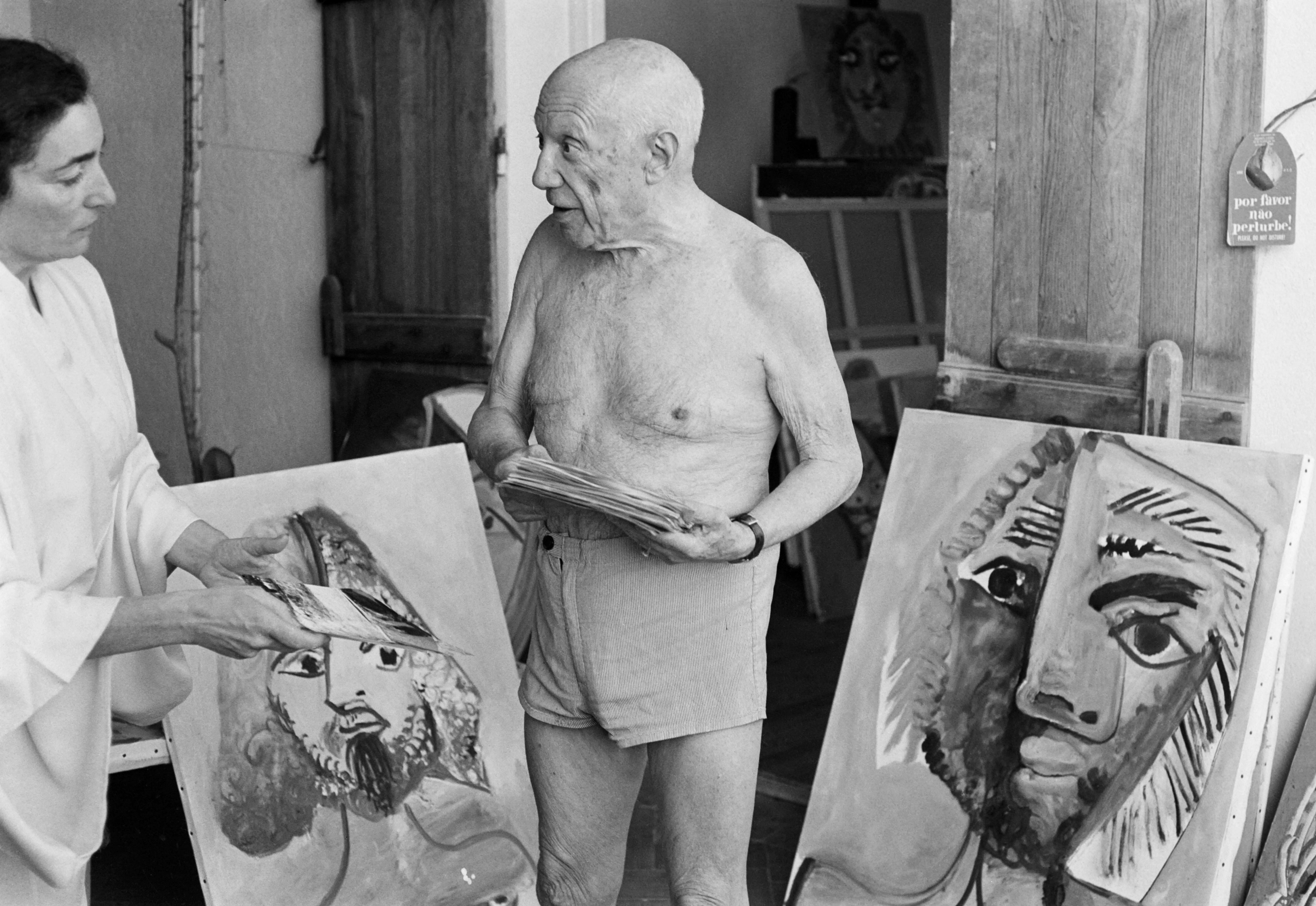 Szkenneléssel vizsgálták Picasso festményét, és egy másikat találtak alatta