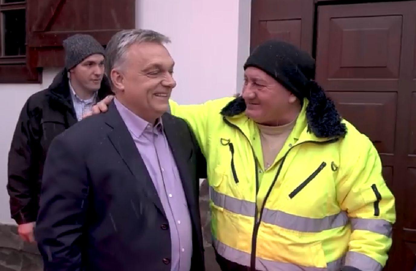 """""""Hát ittunk egy kicsit"""" - mondta a kukás Orbán Viktornak"""