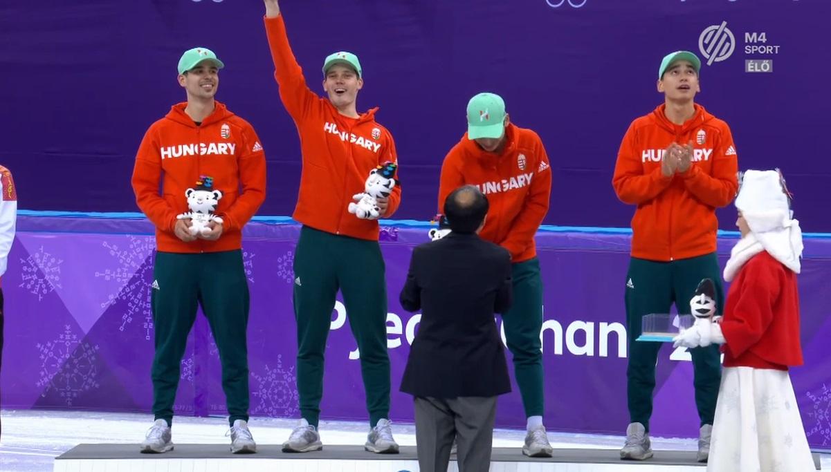 28 millió forint jár fejenként a magyar váltó tagjainak a történelmi olimpiai bajnoki címért
