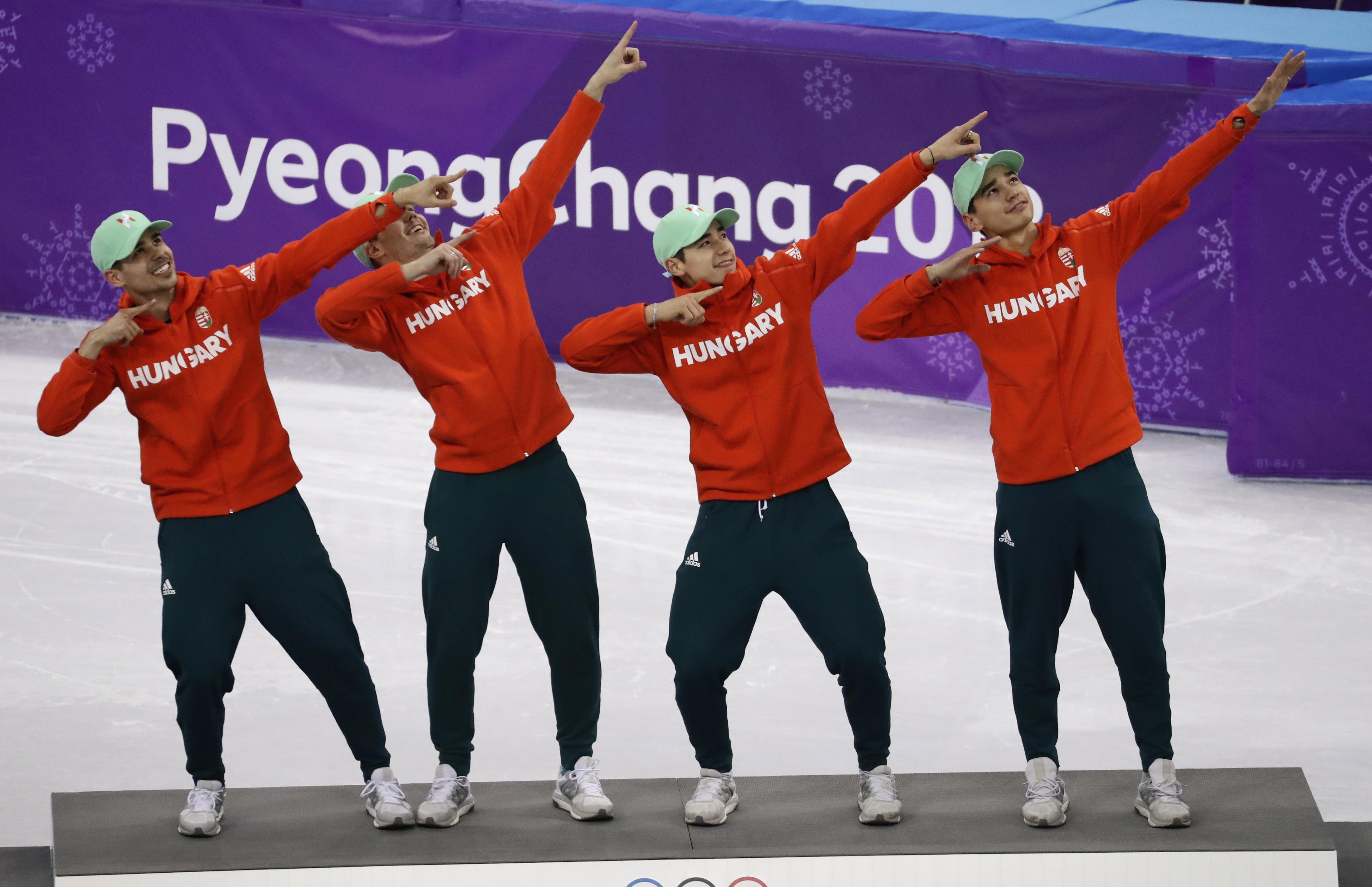 Azért álltak Usain Bolt-pózba a dobogón a magyar olimpiai bajnokok, mert kapnak érte Bolttól egy nagy üveg pezsgőt