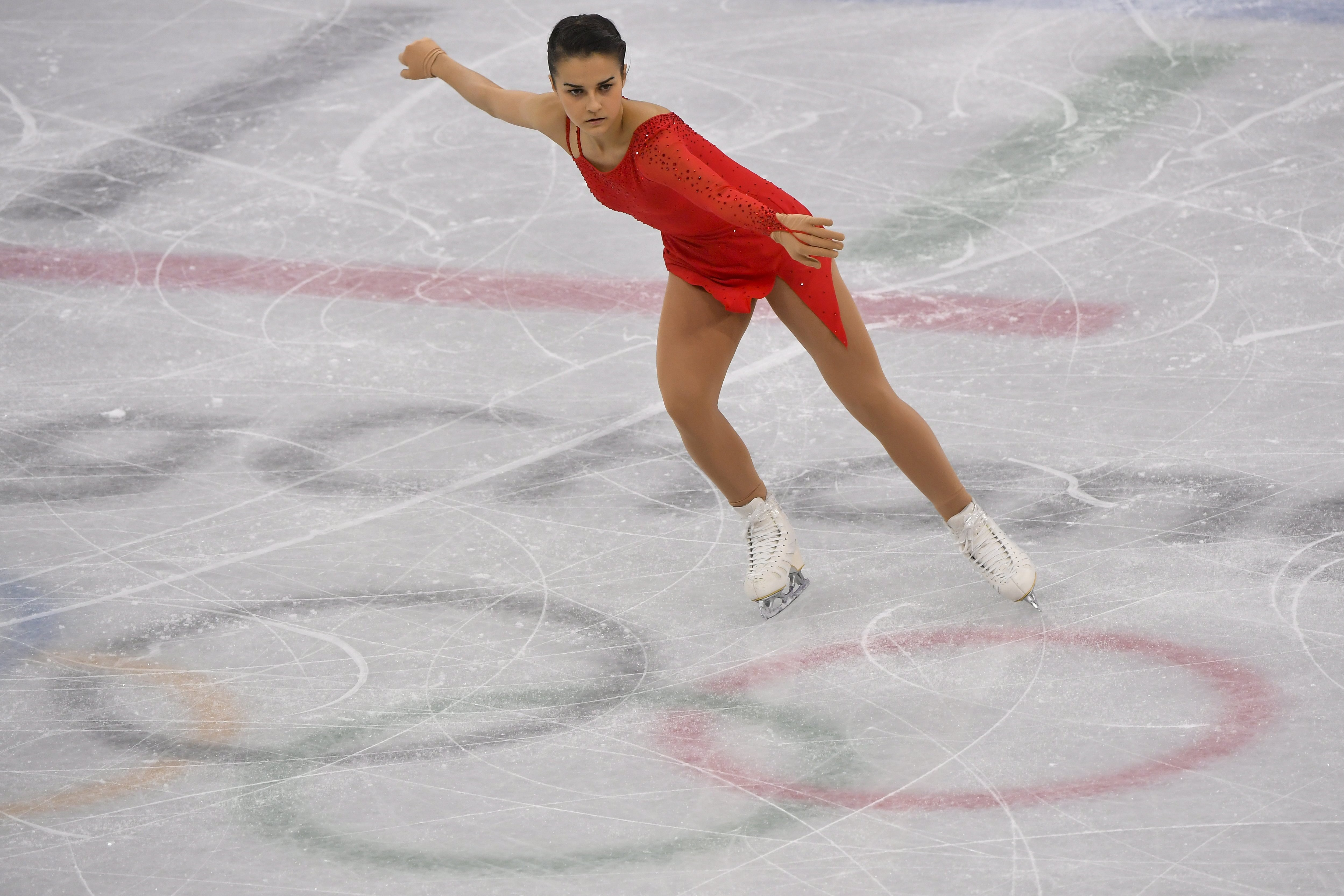 Tóth Ivett műkorcsolyázó a 23. helyen végzett az olimpián