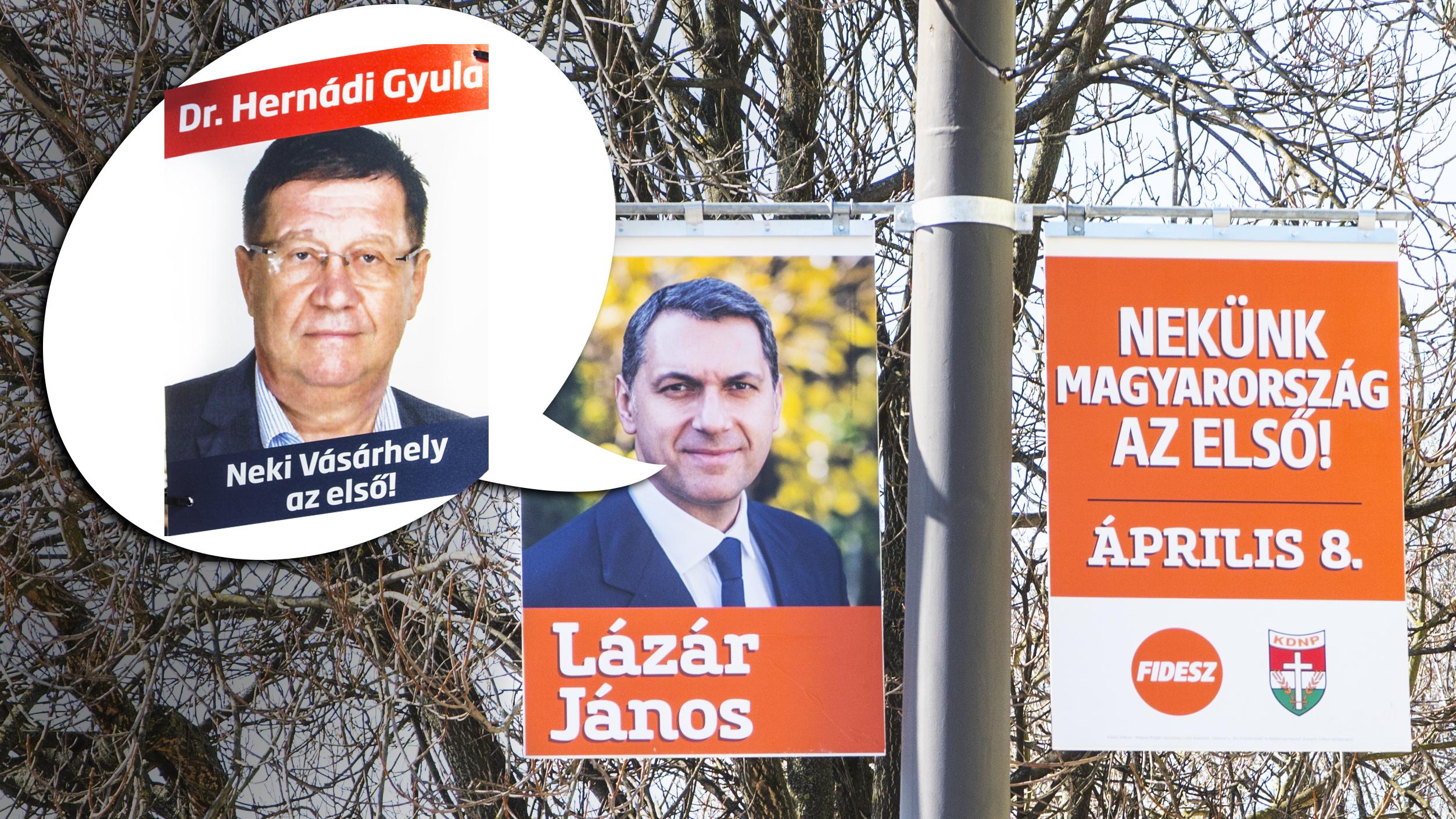 """Hódmezővásárhely másik """"ellenzéki"""" jelöltje saját mottót sem bírt kitalálni magának, ezért inkább a Fideszével kampányol"""