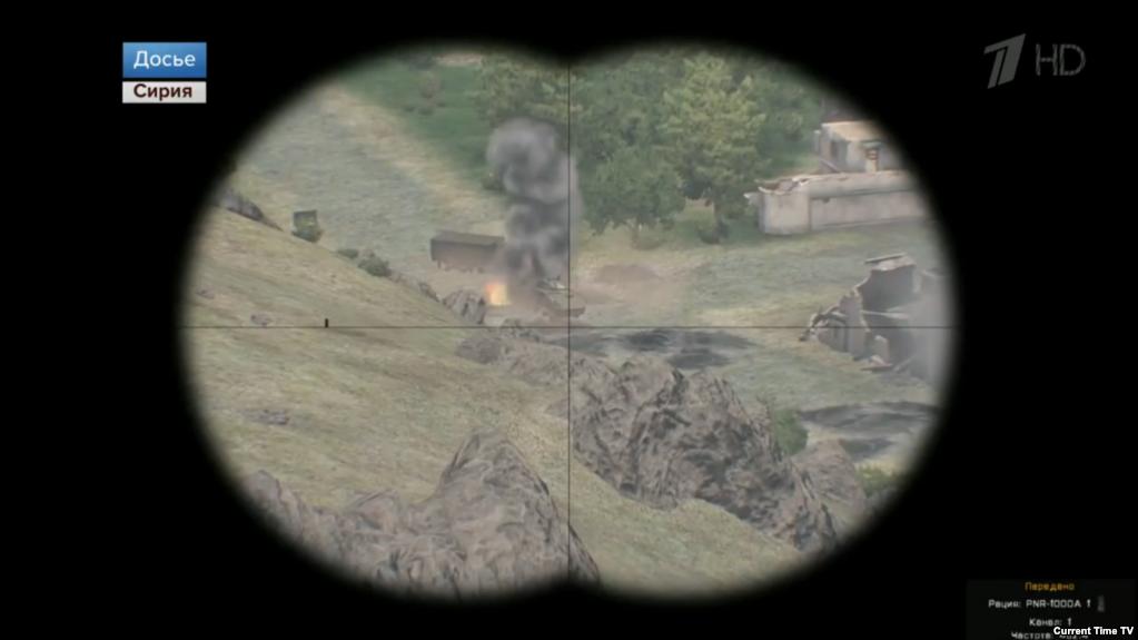 Videojátékból lopott képpel mutatta be a hadsereg szíriai szereplését az orosz propaganda