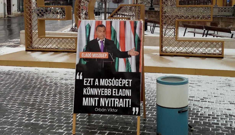 Orbán szavaival alázzák Eger utcáin szegény Nyitrai Zsoltot