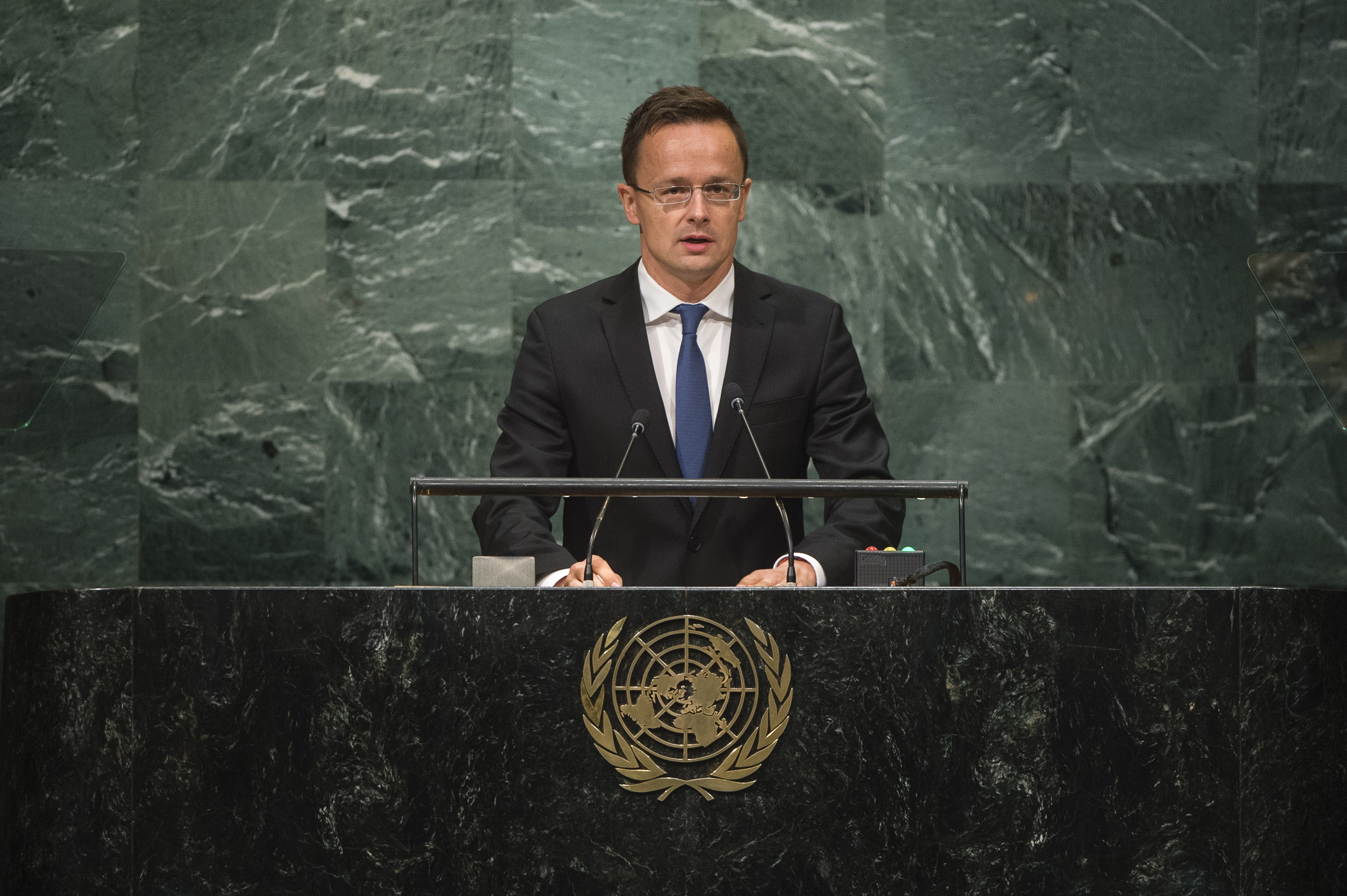 Szijjártó szerint megzavarja a kampányt, ha az ENSZ emberi jogi bizottsága elítéli a gyűlöletbeszédet