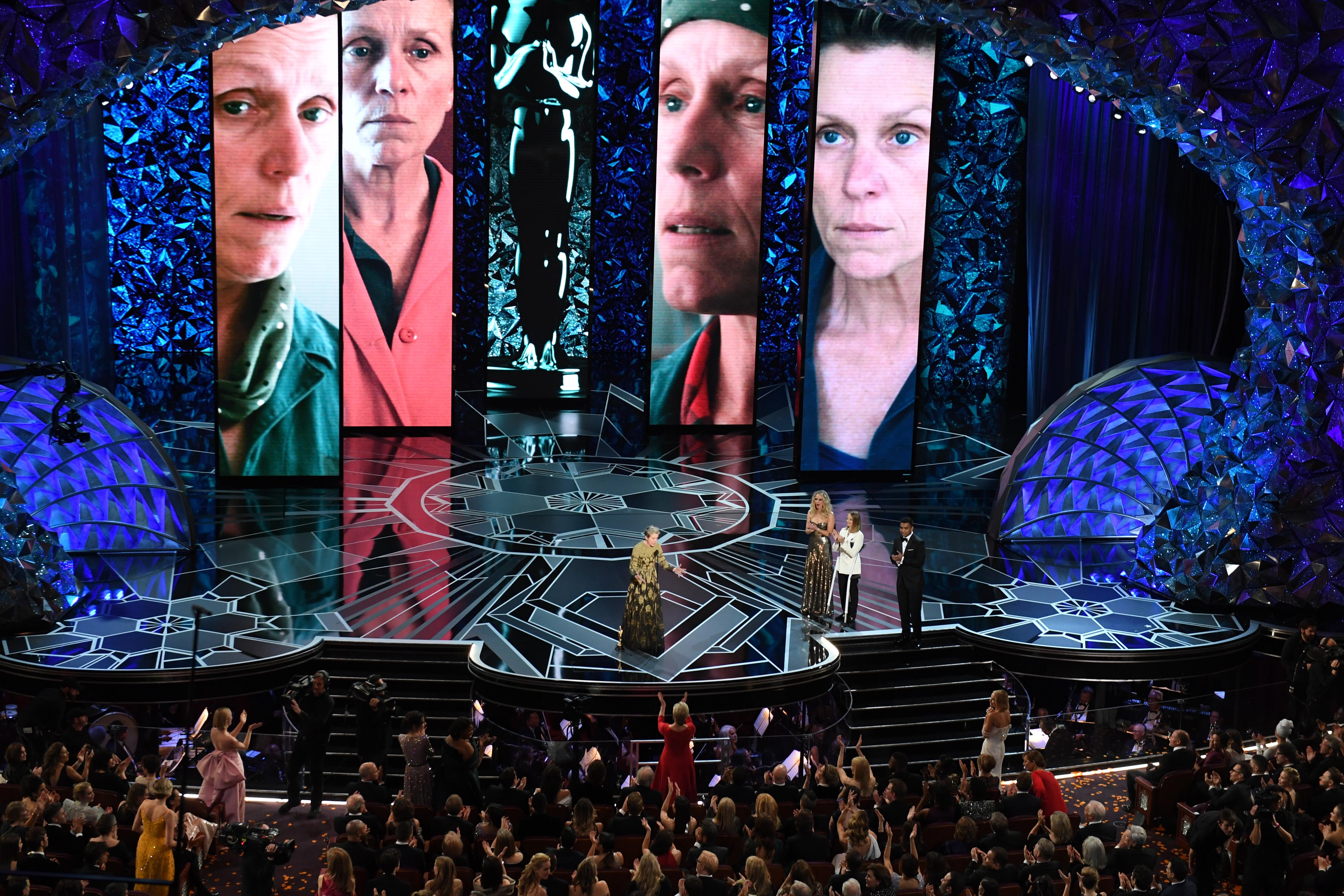 Frances McDormand olyan Oscar-beszédet mondott, amivel azonnal a filmtörténelembe írt egy kifejezést