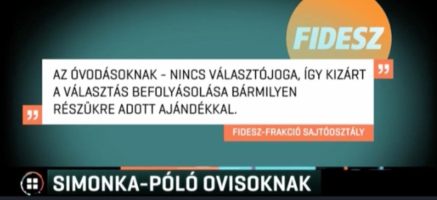 Fidesz: Semmi rossz nincs az óvodásokkal kampányolásban, hiszen nem is szavazhatnak