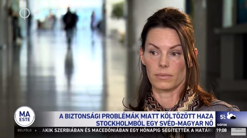 Rágalmazásért és zaklatásért is elítélték Svédországban a nőt, aki a közmédiában beszélt arról, hogy a romló közbiztonság miatt költözött Magyarországra
