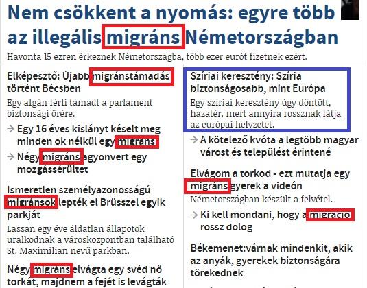 Magyarok, ne menjetek Nyugatra, ismétlem, ne menjetek!
