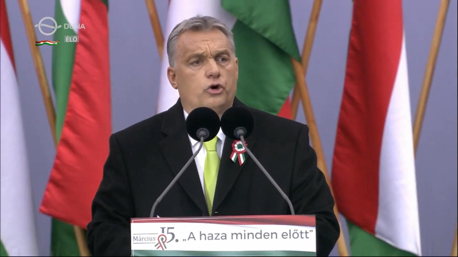 Orbán Viktor: A választás után elégtételt fogunk venni