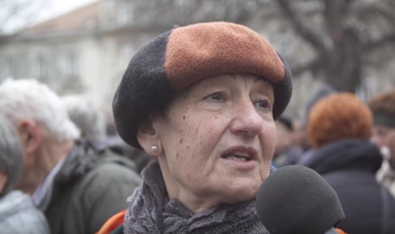 A Békemeneten vonuló nő feltette a kérdést, amit éveken át senki nem mert a Fideszben