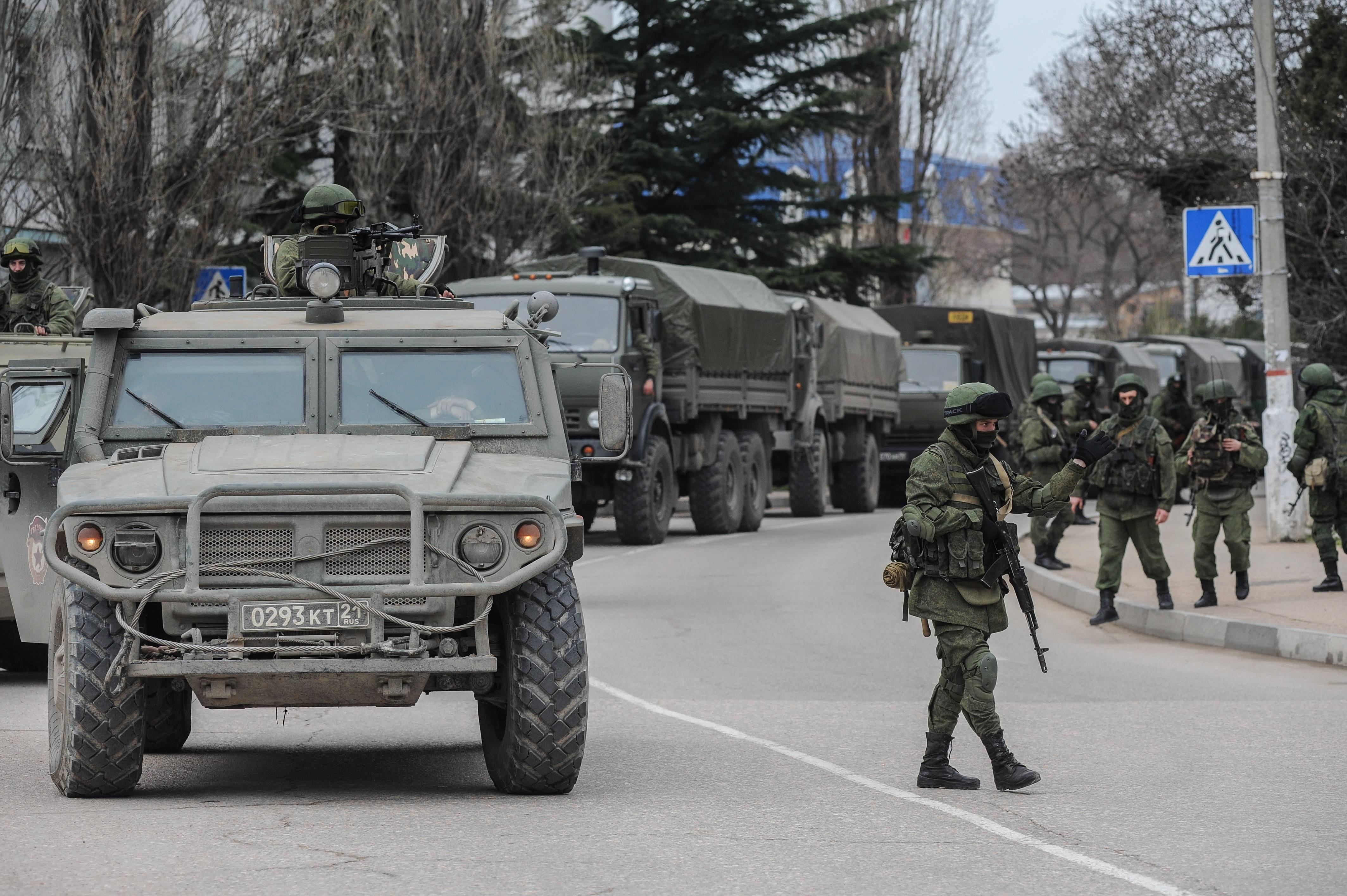 Odamentek az orosz különleges erők, és megmondták, hogy ki lesz az új miniszterelnök