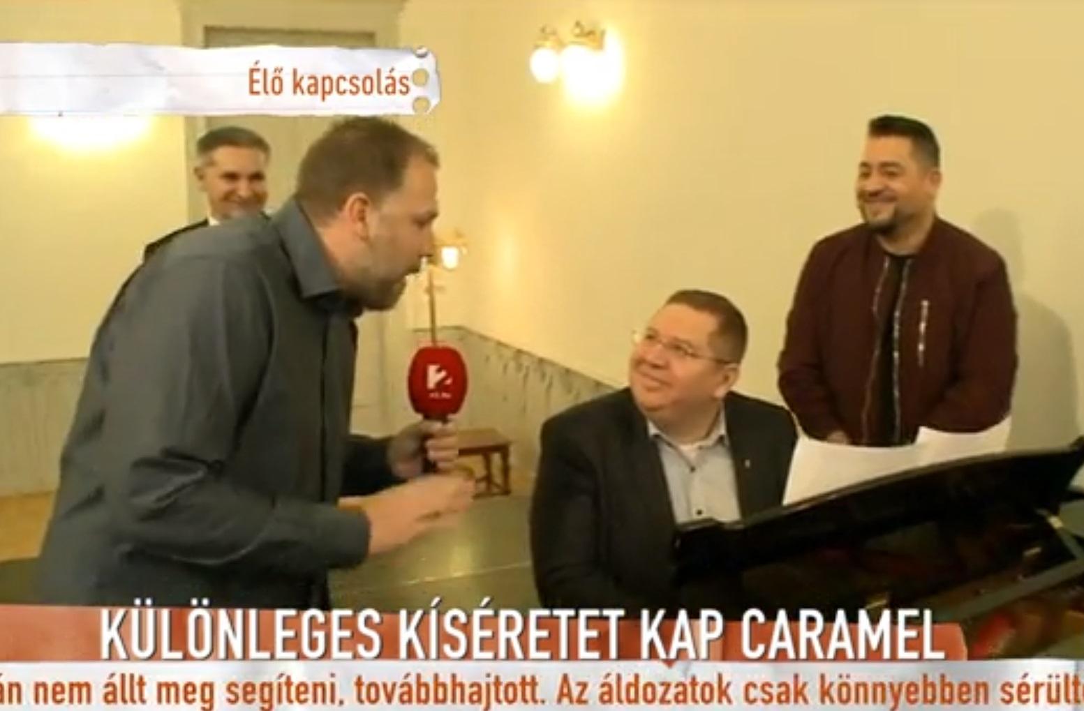 Bajkai István alpolgármester úr megtiszteli azzal a Roma Polgári Tömörülést, hogy fellép rendezvényükön Caramel oldalán