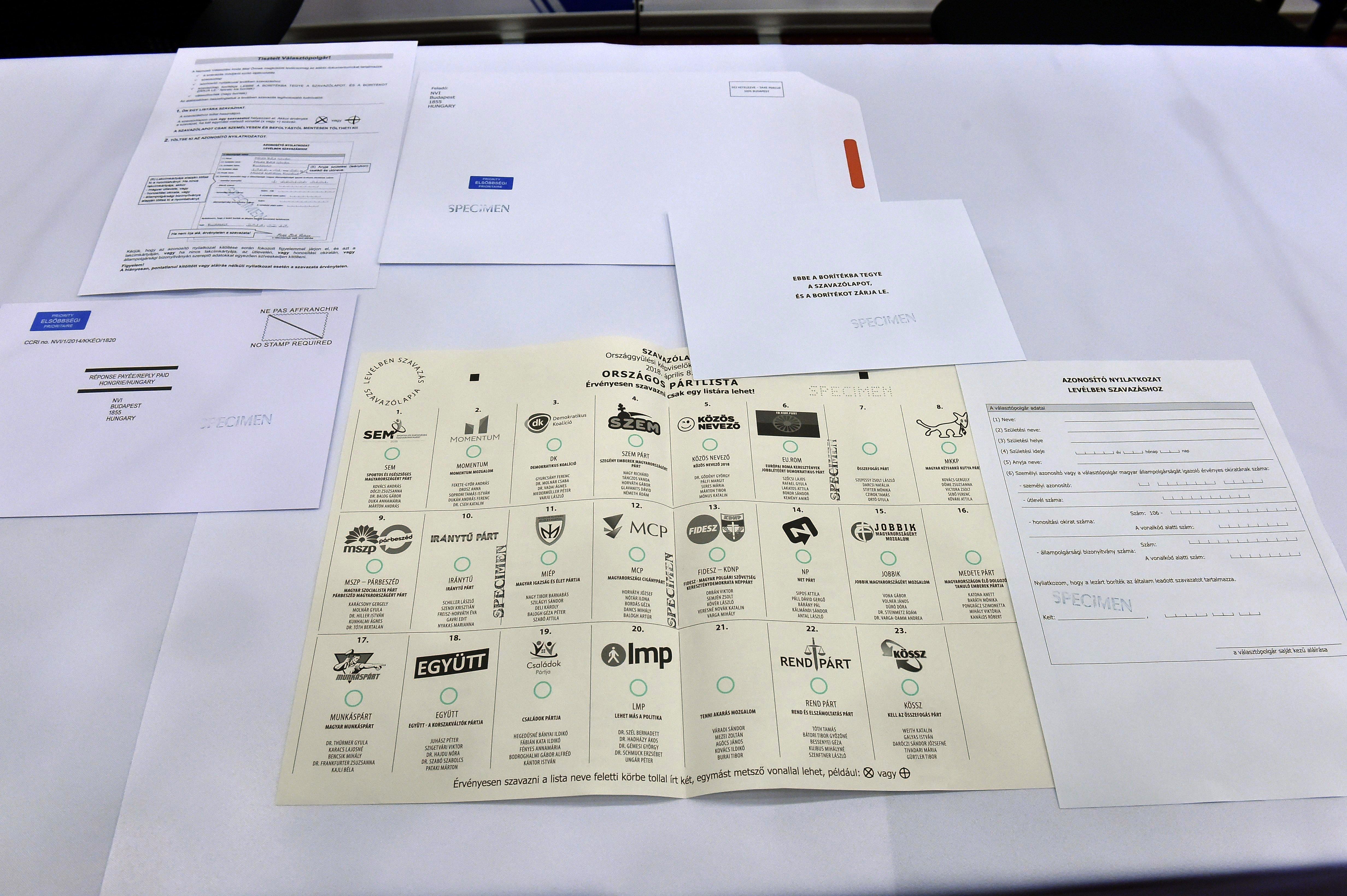 Nagyon kevés delegáltat jelentettek be a szavazatszámláló bizottságokba
