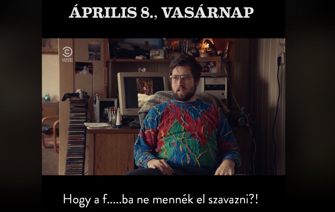 Nem egy párt, hanem egy humoros tévécsatorna csinálta meg a legjobb magyar választási reklámot