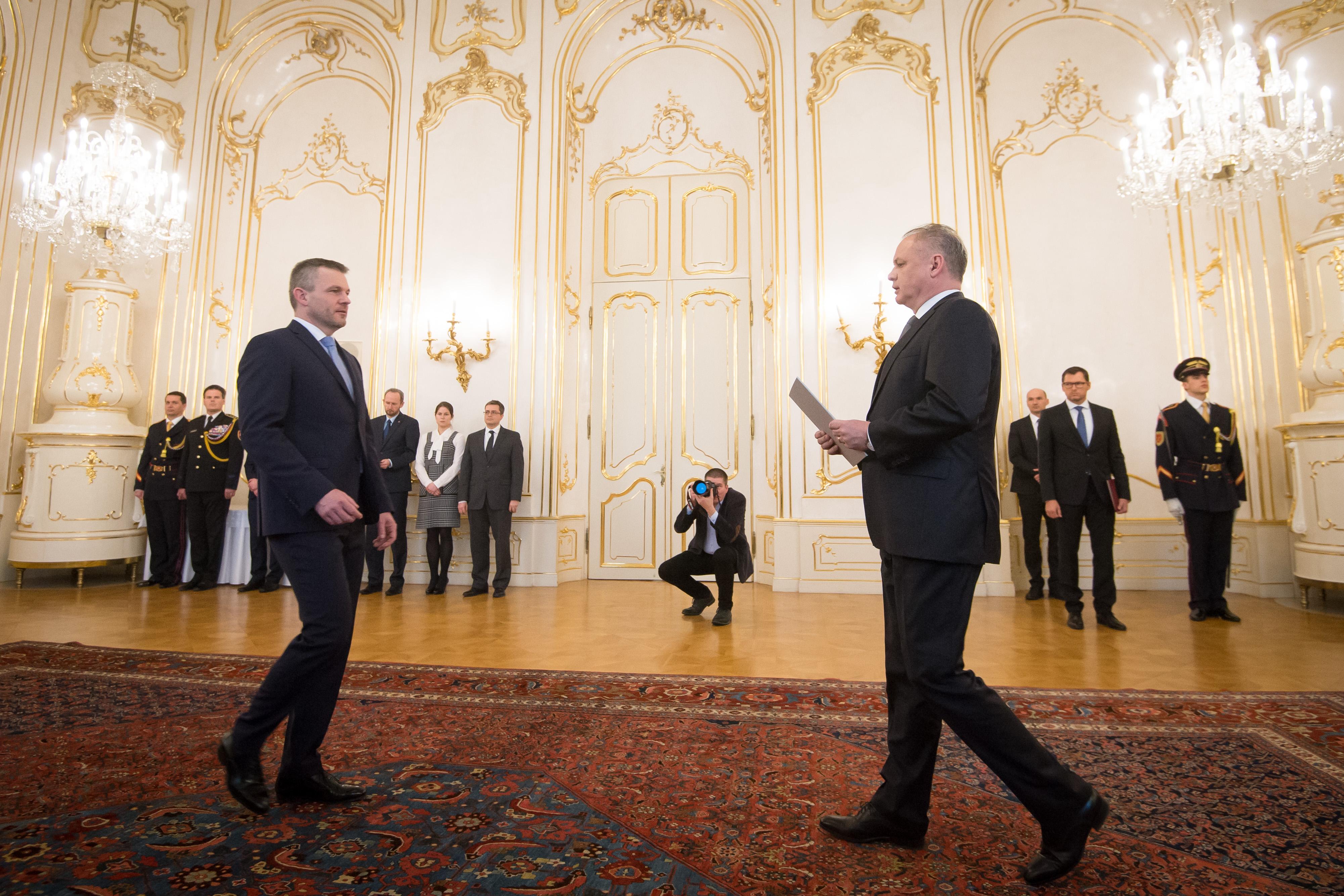 Vége a szlovák kormányválságnak, kinevezték az új miniszterelnököt