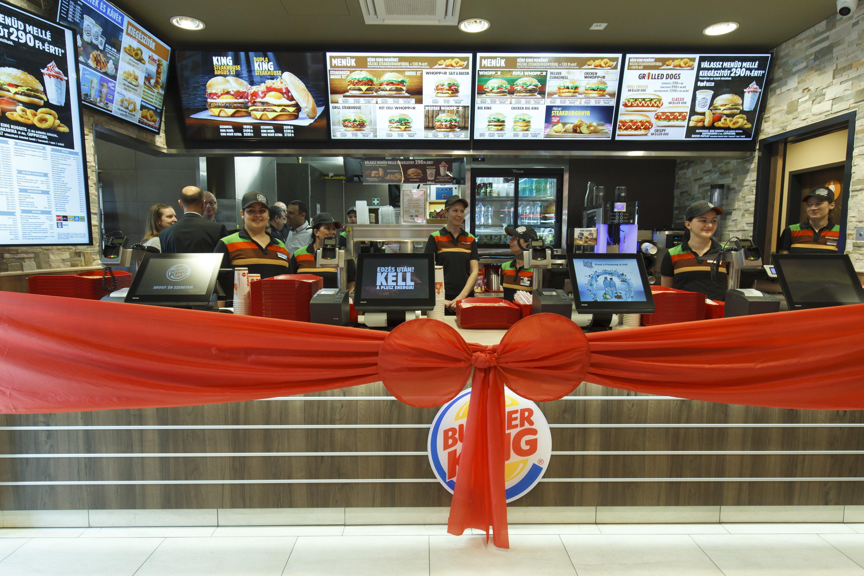 Ünnep: megnyílt az első zalai Burger King